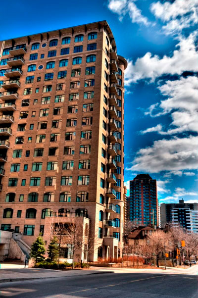 The Gardens Condo Ottawa 85 & 95 Bronson Av Exterior Image
