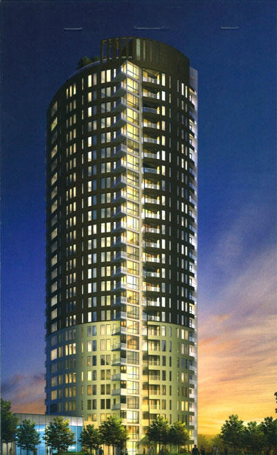 Tribeca East Condo Ottawa 40 Nepean St Exterior Rendering Image