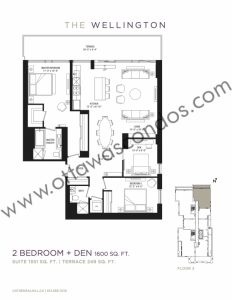 Cathedral Hill Condo Ottawa | 428 Sparks St   Floorplans