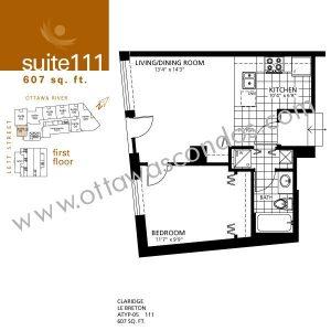 Lebreton flats phase 1 condo ottawa ottawa 39 s condominiums for 111 elizabeth street floor plan