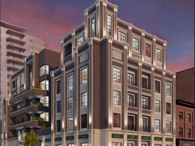 Joyce House Condo Ottawa - 320 Lisgar St - Exterior Rendering Image