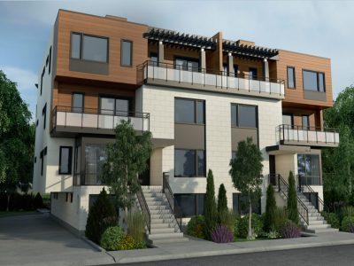 Rideau Walk Condo Ottawa 140 Springhurst Ave Exterior Front Image