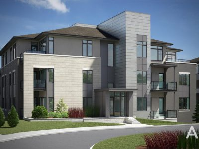 The Elements at Richardson Ridge Condo Ottawa exterior rendering