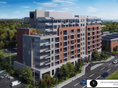 The Founders Residence Condo Ottawa Exterior Rendering