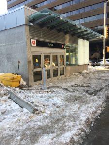 Moon Condo Ottawa Development Site - Future LRT Station