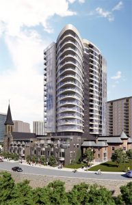 Cathedral Hill Exterior Rendering