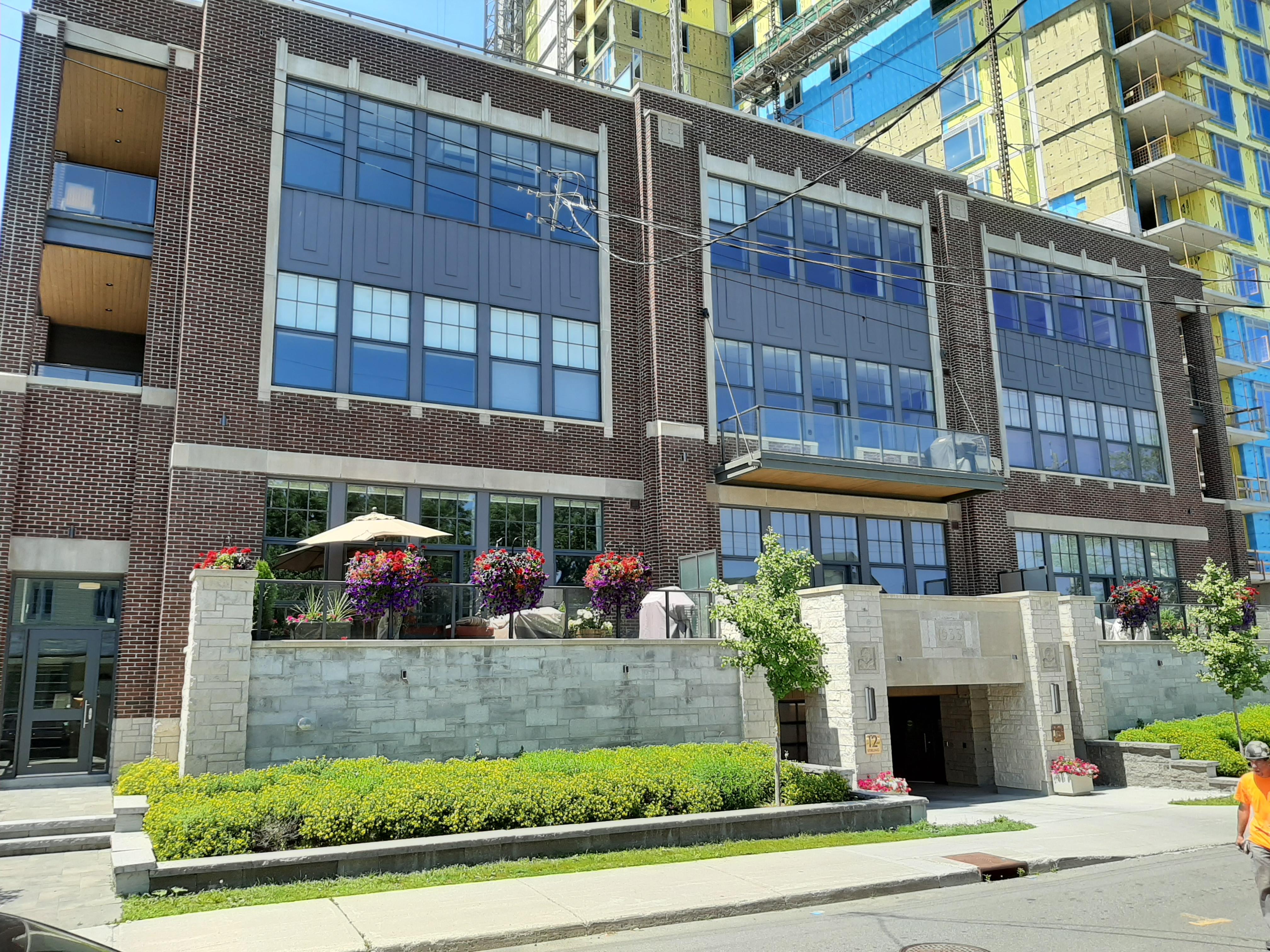 Yard and Station Condo Ottawa Exterior