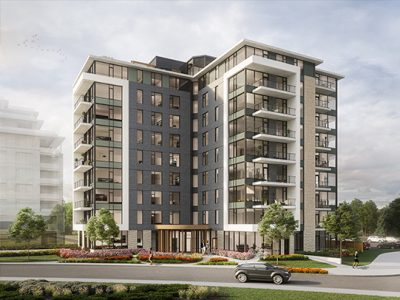 The Spencer at Greystone Village Condo Ottawa Rendering